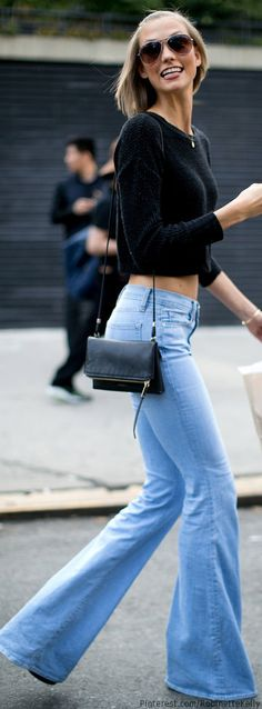 "NYFW Street Style ✮Feel free to share on Pinterest"" ♥ღ  #Denim.... WWW.FASHIONANDCLOTHINGBLOG.COM"