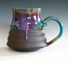 I would love to have a hot cup of coffee in this!