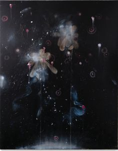 Cruz Jimenez Oil On Canvas, My Arts, Darth Vader, Stage, Painting, Fictional Characters, Pink, Earth, Night