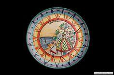 Piatto-murale-decoro-Positano-con-giro-geometrico