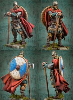 Viking Raider 793 A.D. - 54mm - The Vikings (x1 fig)