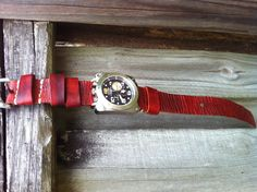 Handmade 26mm NATO Leather strap with leather keepers.  For Panerai Radiomir, Marina Militare and Bell & Ross BR02