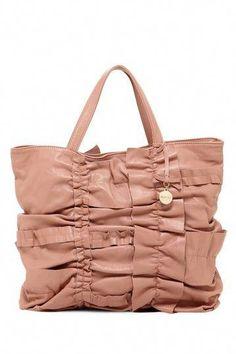 7f7089515ac YES PLEASE! RED Valentino Ruffle Trim Handbag