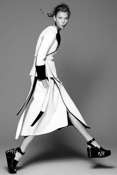 Karlie Kloss by David Sims for Vogue US July 2014