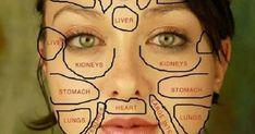 Mapa chinês da face pode revelar mau funcionamento de órgãos | Cura pela Natureza.com.br