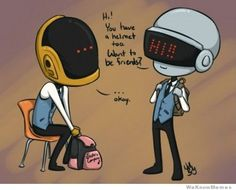 The Origins of Daft Punk