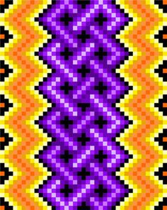 bead patterns for bracelets Bead Embroidery Patterns, Beaded Bracelet Patterns, Bead Loom Patterns, Beaded Embroidery, Beading Patterns, Cross Stitch Patterns, Jewelry Patterns, Knitting Patterns, Bargello Quilts