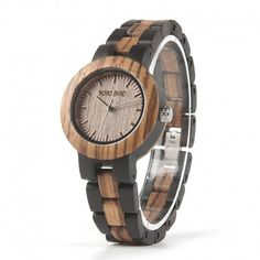 BOBO BIRD Zebra Ebony Wooden Watches for Men Women Quartz Lovers Watch with Tool for Adjusting Size Masculino Mujer Reloj 2017 Women's Dress Watches, Women's Watches, Wrist Watches, Watches Online, Wooden Watches For Men, Wooden Gift Boxes, Wooden Case, Watch Sale, Couple Gifts