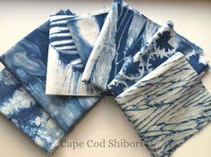 Hey, I found this really awesome Etsy listing at https://www.etsy.com/listing/201406861/shibori-indigo-fabric-scrap-bundle
