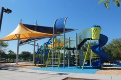 Freestone park, lake & playground @ 1045 E. Juniper Rd (At the corner of Lindsay and Juniper Roads - between Guadalupe and Elliot Roads), in Gilbert
