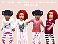 Sims 4 Custom Content Finds - mxfsims: | TODDLER MEGAPACK |  Ofcourse with all...