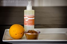 All natural body spray recipe. Can you say awesome homemade gift?