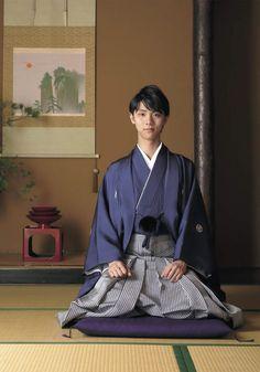 Yuzuru Hanyu in hakama