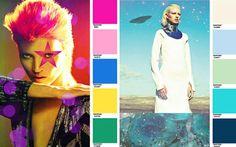 Fashion Forecast: Key Colour Combos Fall 2015 Winter 2016 Mood Colour Palette F/W 15/16 Trend Council / Pantone