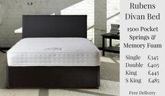 Rubens Divan Bed