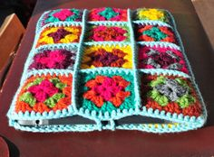 iPad Case iPad Cover iPad Sleeve Colourful Retro Crochet by Floom