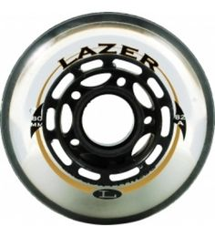These Labeda wheels are great for recreational and performance skaters alike. The Lazer feature Clear Tech recreation urethane and performs well on a variety of surfaces for indoor/outdoor use but are specifically designed for outdoor use.