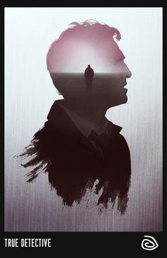 True Detective by Rolando Miguel Soberón, via Behance