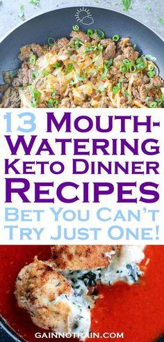 Keto Dinner Recipes