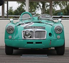 Replica works MGA went straight to the US from new as a racer