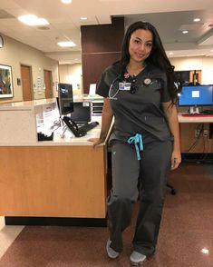 Ideas for medical doctor uniform style Cute Nurse, Sexy Nurse, Beautiful Nurse, Beautiful Black Women, Nurse Aesthetic, Makeup Aesthetic, Nursing Goals, Cute Scrubs, Cheap Scrubs