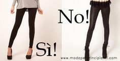 Moda per principianti: Variazioni d'altezza: busto corto - gambe lunghe