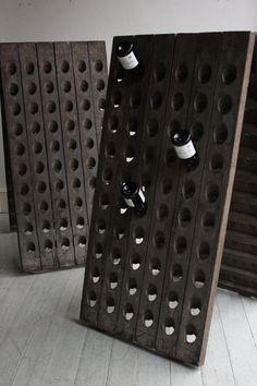 I love champagne, and I REALLY love this champagne rack!