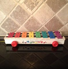Vintage Antique Fisher Price Toy Xylophone Model 870 1970s | eBay