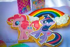 My Little Pony cookies from a My Little Pony Birthday Party via Kara's Party Ideas | KarasPartyIdeas.com (39)