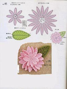 ~ ~ Crochet Style: woven flowers