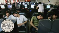 Internet cafes started as coffee shops where you could check email. But over the years, people turned them into dens for sharing pirated music, hotspots for video game addiction, and even temporary housing. Video Game Addiction, Game Cafe, Temporary Housing, Check Email, The Secret History, Over The Years, Weird, Internet, Music