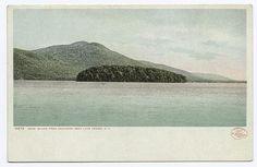 Dome Island from Sagamore Dock, Green Island, Lake George, NY