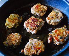visgehaktballetjes met kruiden en wasabimayonaise