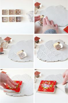images about Craft Ceramic coasters, Coaster