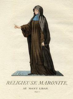 Maronite Nun from Mount Lebanon, 1779