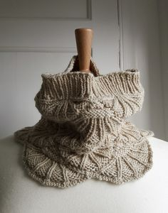 Ravelry: Oysterbeds pattern by Anni Howard from the Ebb and Flow collection Knit In The Round, Ravelry, Cowl, Knitting, Pattern, Collection, Tricot, Breien, Patterns