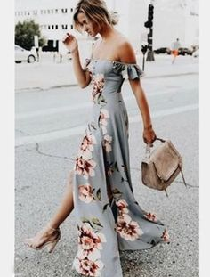 Our Rosella Floral Maxi Romper is perfect for fall festivities or a day spent in the sun. This maxi romper silhouette is simply gorgeous. A stunning and wholeso Flower Dresses, Cute Dresses, Maxi Dresses, Wrap Dresses, Casual Dresses, Maxi Wrap Dress, Dress Up Outfits, Maxi Skirts, Dress Clothes
