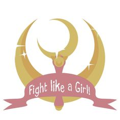 Fight like a girl! Sailor Moon Edition | T-Shirt