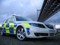 SAAB 9-5  Police Car
