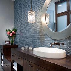 Treemont Transitional - contemporary - bathroom - austin - Shoberg Custom Homes