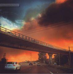Νύχτα τρόμου στη Μασσαλία – Οι φωτιές απείλησαν σπίτια Celestial, Sunset, Outdoor, Sunsets, Outdoors, Outdoor Games, Outdoor Living