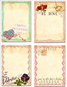 20 FREE Valentine's Day printables from Mod Podge Rocks blog