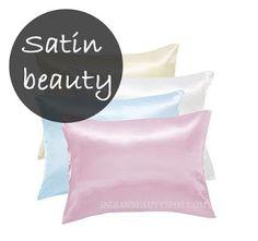 Use satin pillowcases to minimize stress on hair. :)