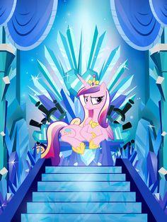The Crystal Throne by PixelKitties.deviantart.com on @deviantART
