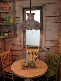 Liberty Biberty: Lighting the Farmhouse kitchen