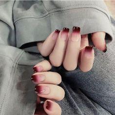 24 unids degradado artificial color afilado uñas arte cubierta | Etsy Gradient Nails, Pink Nails, Gradient Color, Acrylic Nails, Coffin Nails, Ombre Nail, Galaxy Nails, Sexy Nails, Pastel Nails