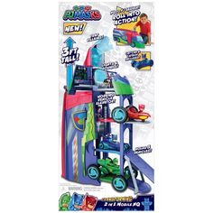 PJ Masks Transforming 2 In 1 Mobile HQ : Target