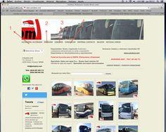 Visite nuestra WEB...amplia selección de Autocares Usados