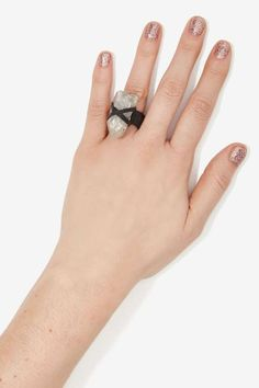 JAKIMAC Clear Skies Leather Ring
