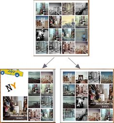 Grundlayout für ein Fotobuch gestalten